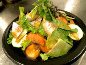 彩り野菜のグリーンサラダ